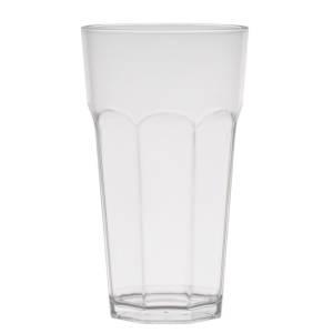 стакан белый прозрачный большой