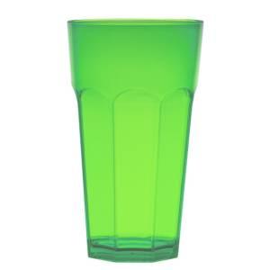 стакан большой зеленый