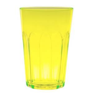 стакан маленький желтый